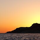 Cape Aspro at Sunset by physiognomic