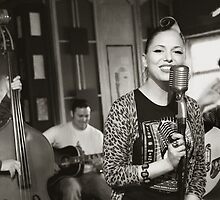 Imelda May - The Band, and Aaron Preswich? by Simon Groves