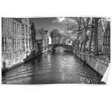 Gothic Bruges Poster