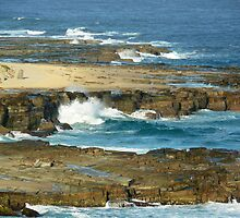 Bar Beach, NSW, Australia by PollyBrown