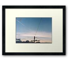Afternoon Sky Framed Print