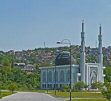 Istiqlal Mosque, Sarajevo, Bosnia Herzegovina  by Margaret  Hyde