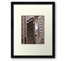 The Glass Jungle Framed Print
