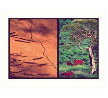 Tree & Dirt Art Print