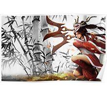 Blood Moon Akali - League of Legends Poster