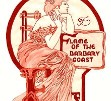 Flame of the Barbary Coast by redqueenself
