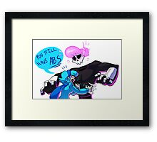 YOU STILL HAVE ABS Framed Print