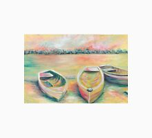 Summer Boats in Yellow Unisex T-Shirt