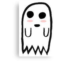 Cute Ghost Canvas Print