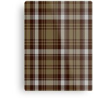 00412 Brown Watch Dress Tartan  Metal Print