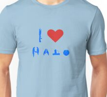 I love Halo Unisex T-Shirt