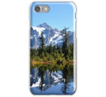 Mount Shuksan on a Sunny day iPhone Case/Skin