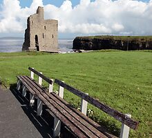ballybunion castle view by morrbyte