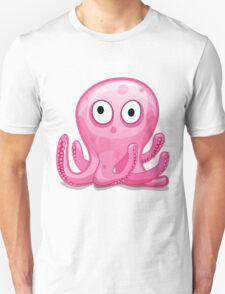 Cartoon Octopus T-Shirt