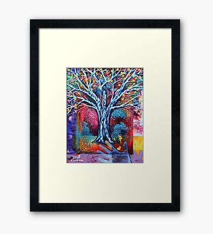 'The Dreaming Tree' Framed Print