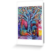 'The Dreaming Tree' Greeting Card
