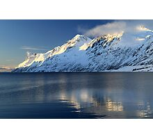 Alpine mountains in Norway Photographic Print