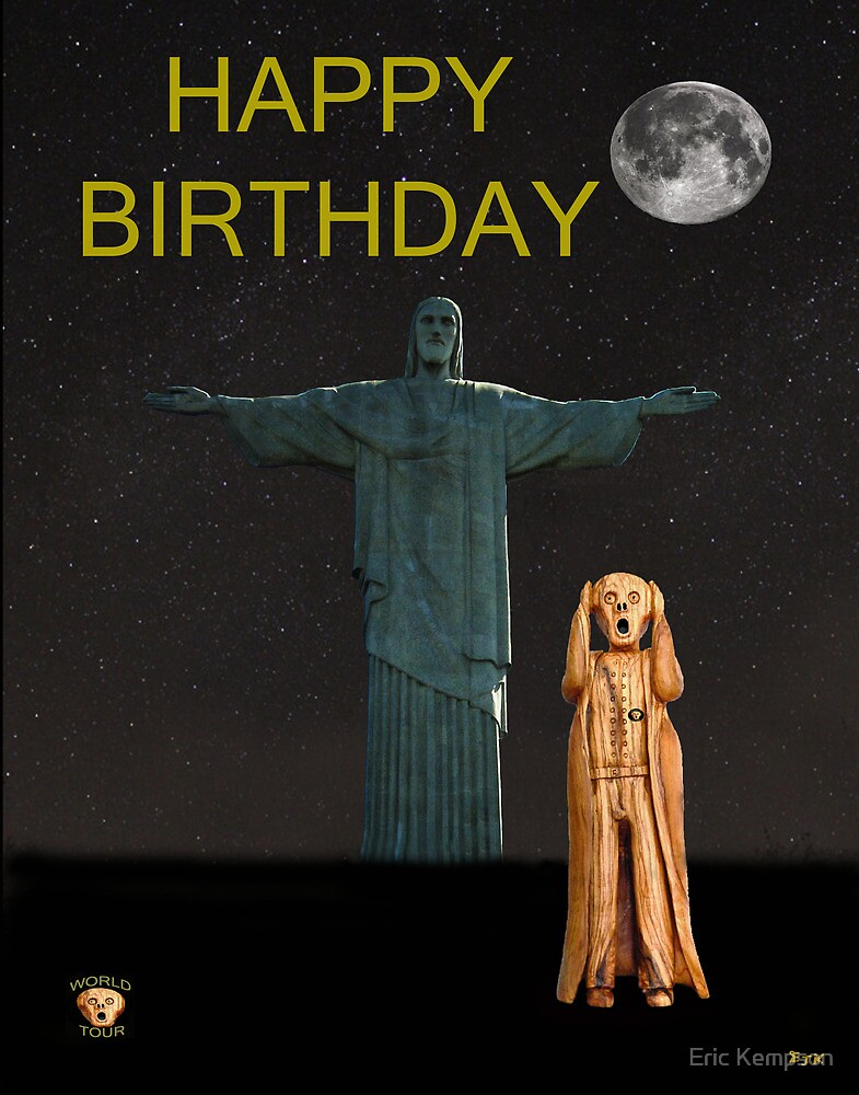 The Scream World Tour Rio Happy Birthday by Eric Kempson
