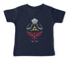 Twilight Princess Hylian Shield Baby Tee