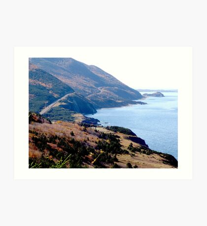Cap Rouge, Cabot Trail Art Print