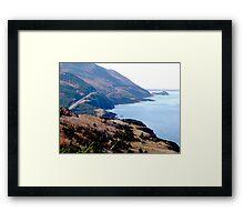 Cap Rouge, Cabot Trail Framed Print