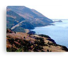 Cap Rouge, Cabot Trail Canvas Print