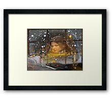 Snow falls Framed Print