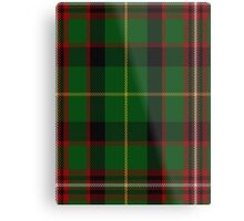 00413 George Brown Tartan Metal Print