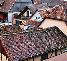 Ginger Bread Rooftops by Chuck Fletcher
