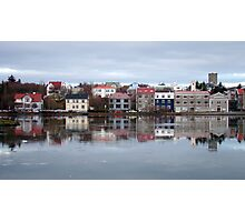 Reykjavik Reflections Photographic Print