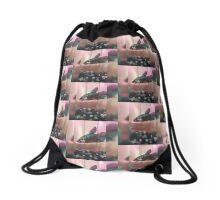 Sweet Fighting Fish  Drawstring Bag