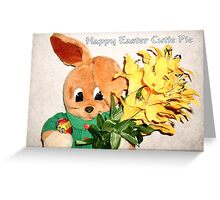 Happy Easter Cutie Pie Greeting Card