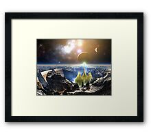 The Golden Temple of Many Dreams Framed Print