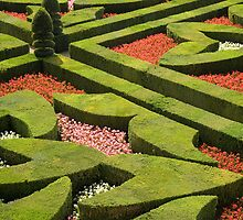 The  love garden, Chateau Villandry, Loire Valley by cpcphoto