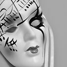 Porcelain mask by MarieG