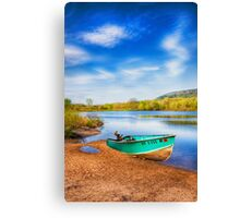 beautiful place to fish Canvas Print