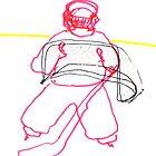 Tiny Goalie by Richard Butler