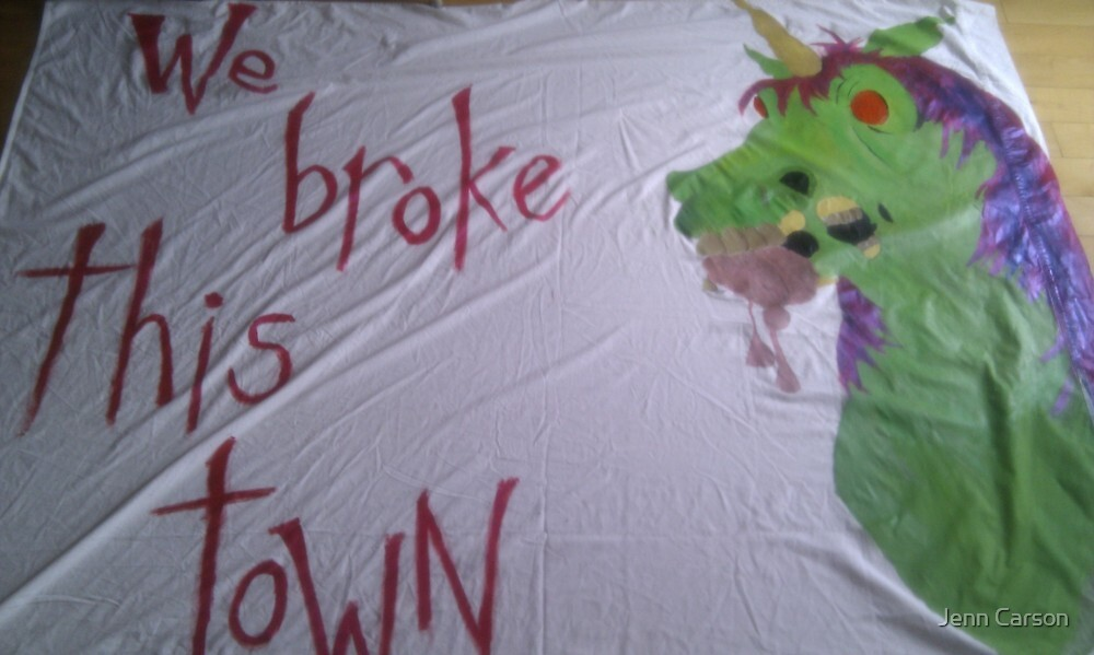 We Broke This Town by Jenn Carson