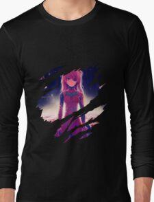 neon genesis evangelion rei ayanami asuka soryu anime manga shirt Long Sleeve T-Shirt