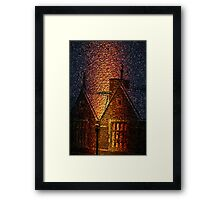 Dickens District Framed Print
