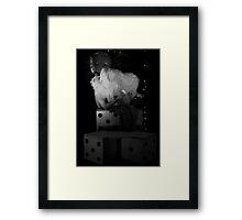 A Hidden Diamond Framed Print