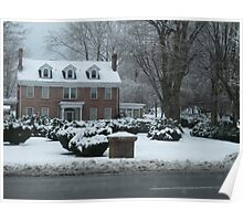 Wintry Home Poster