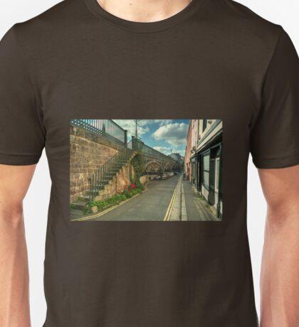 The Iron Bridge at Exeter  Unisex T-Shirt
