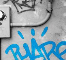 Graffiti - Blue Sticker