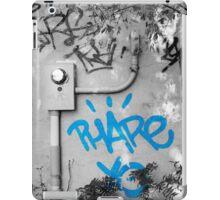 Graffiti - Blue iPad Case/Skin