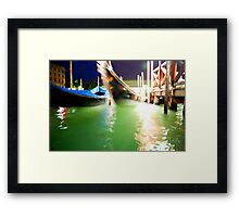 A Night in Venice Framed Print