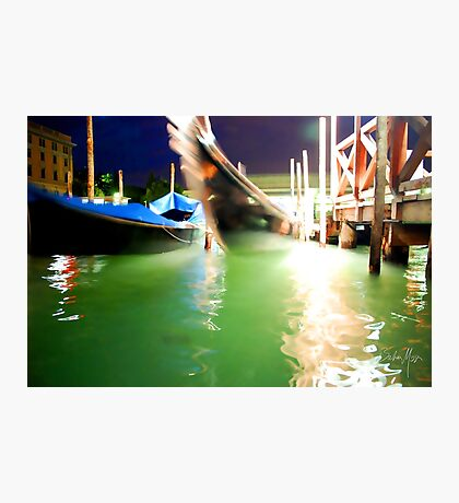 A Night in Venice Photographic Print