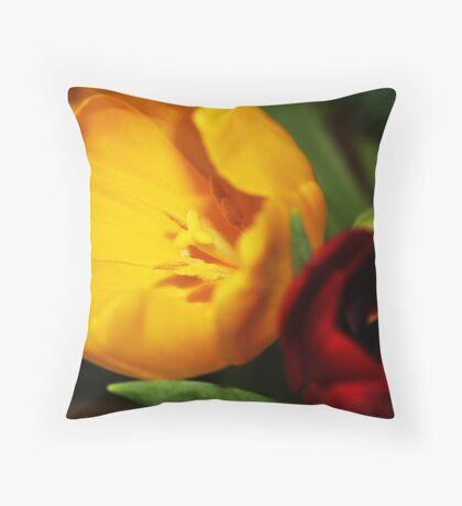 Tulip x2 Throw Pillow