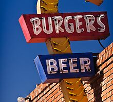 Burgers & Beer by Charles Dobbs Photography