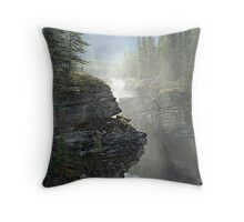 Mists Throw Pillow